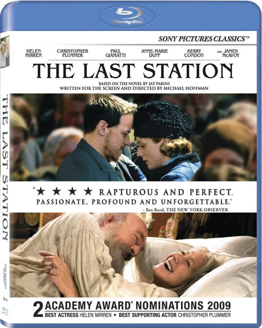THE LAST STATION Blu-ray Cover Art