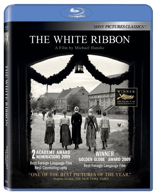 The White Ribbon Blu-ray Cover Art