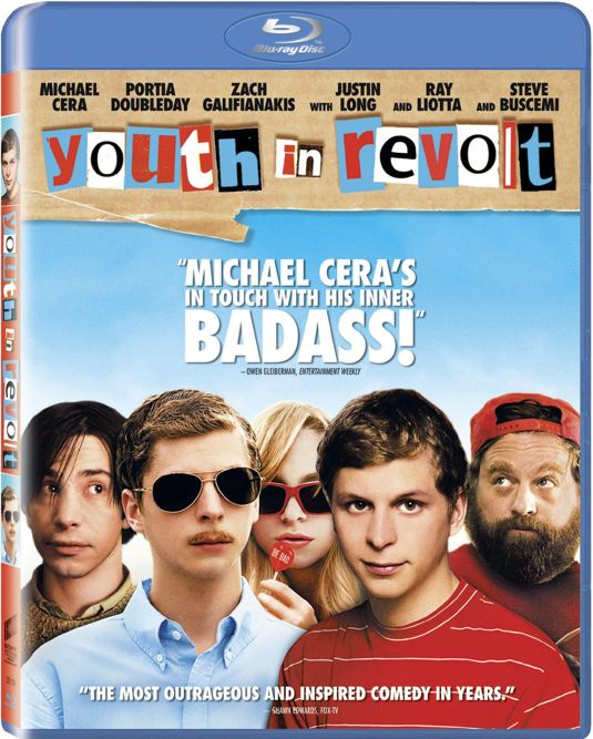 Youth In Revolt Bluray Cover Art