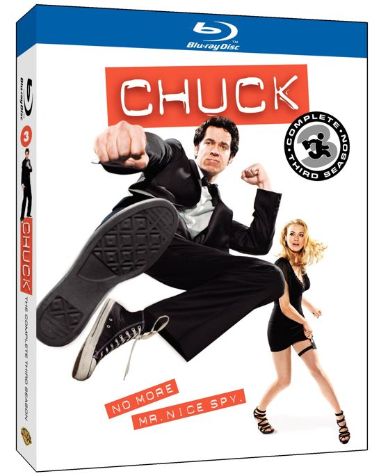 CHUCK Season 3 Bluray