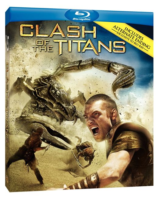 CLASH OF THE TITANS Blu-ray Cover Art