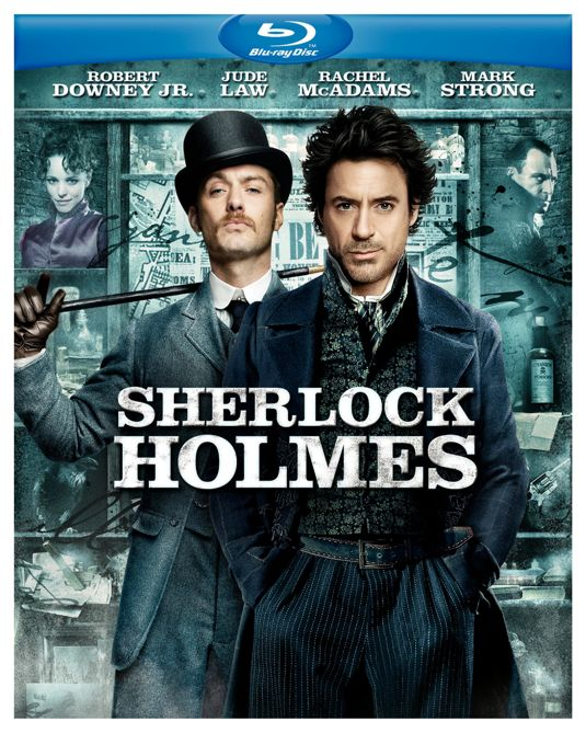 SHERLOCK HOLMES DVD And Blu-ray Cover Art