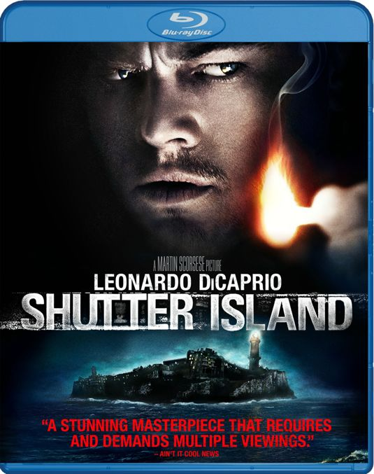 SHUTTER ISLAND Blu-ray Cover Artwork