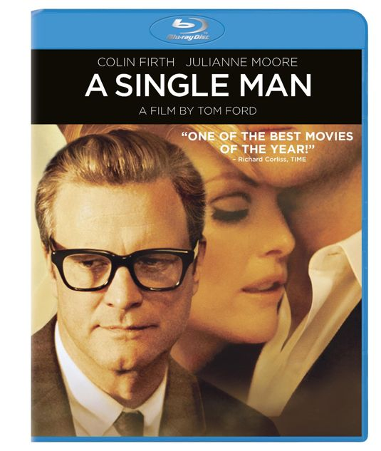 A SINGLE MAN Blu-ray Cover Art