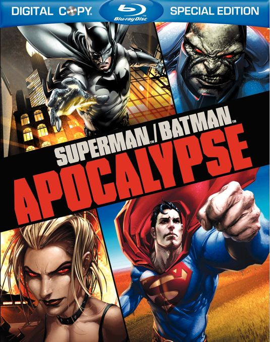 Superman Batman Apocalypse Bluray