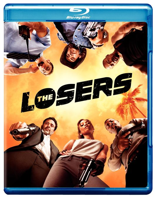 THE LOSERS Blu-ray Cover Art