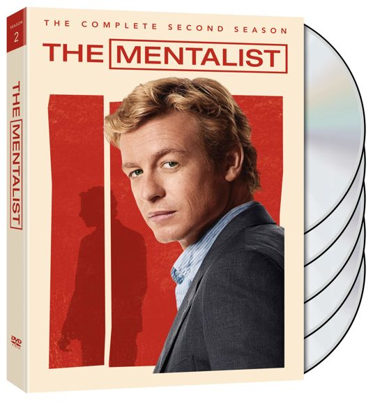 THE MENTALIST Season 2 DVD Cover Artwork