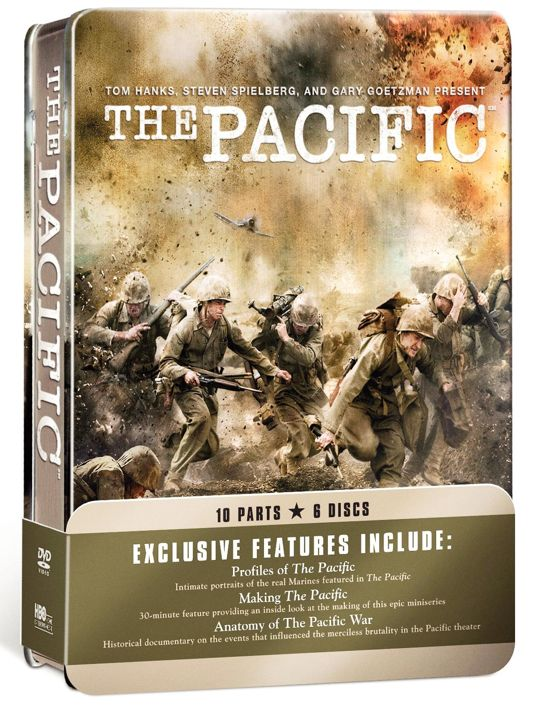 THE PACIFIC Blu-ray And DVD Cover Art