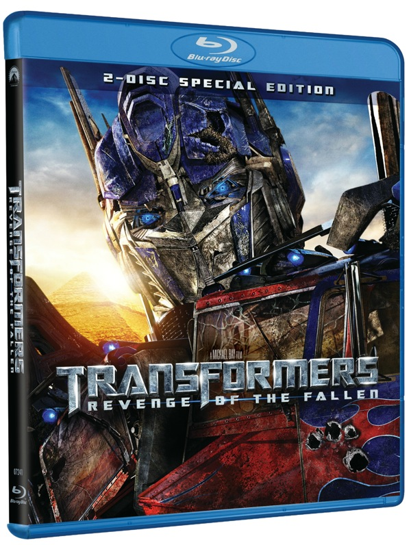 Transformers Revenge Of The Fallen Blu-ray Cover Artwork