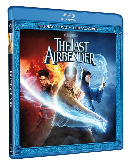 THE LAST AIRBENDER DVD And Bluray