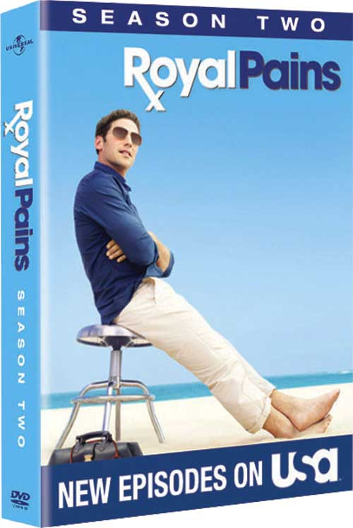 Royal Pains Season 2 DVD