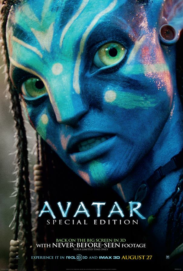 AVATAR Re-Release Movie Poster