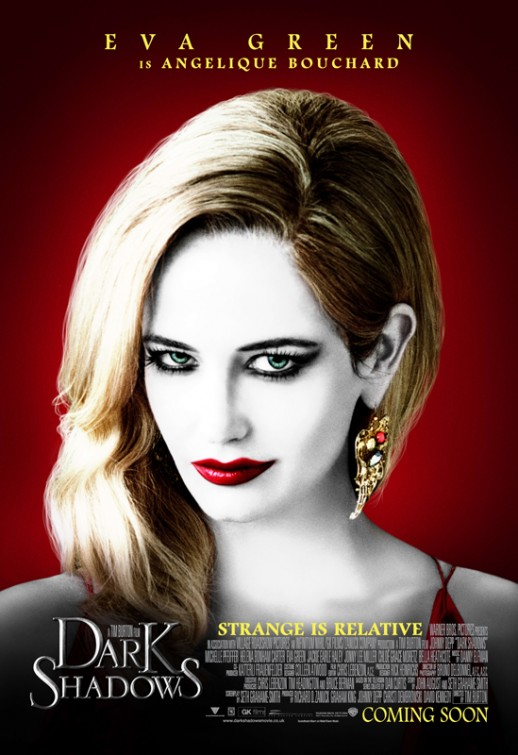 Eva Green Dark Shadows Poster