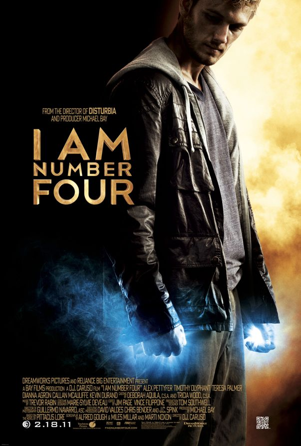 AM NUMBER FOUR Movie Poster | SEAT42F