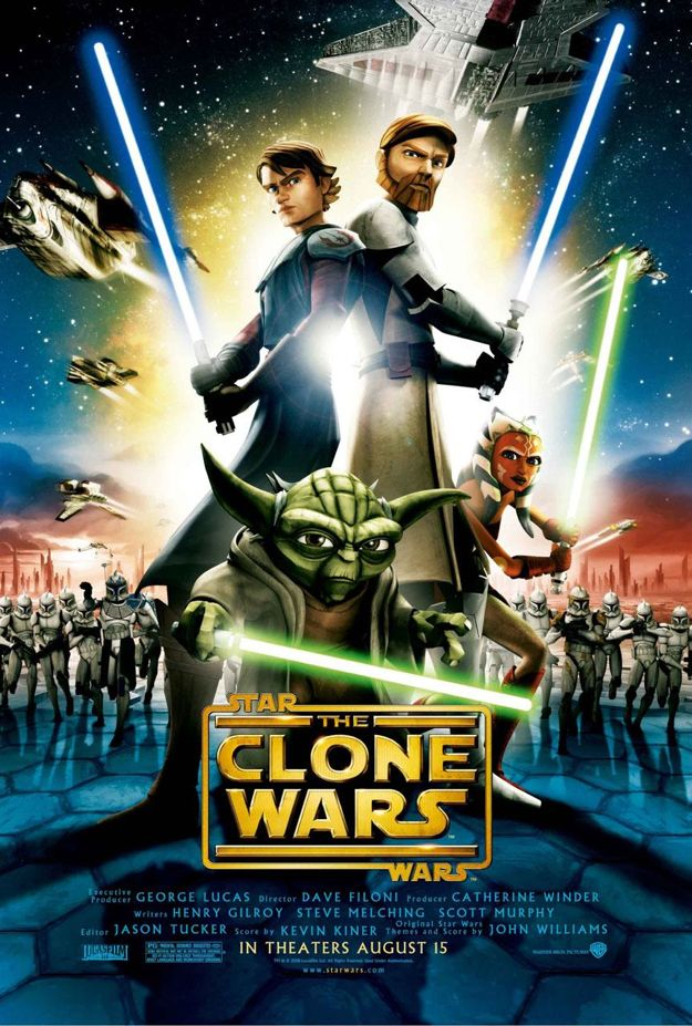The Clone Wars Poster Star Wars