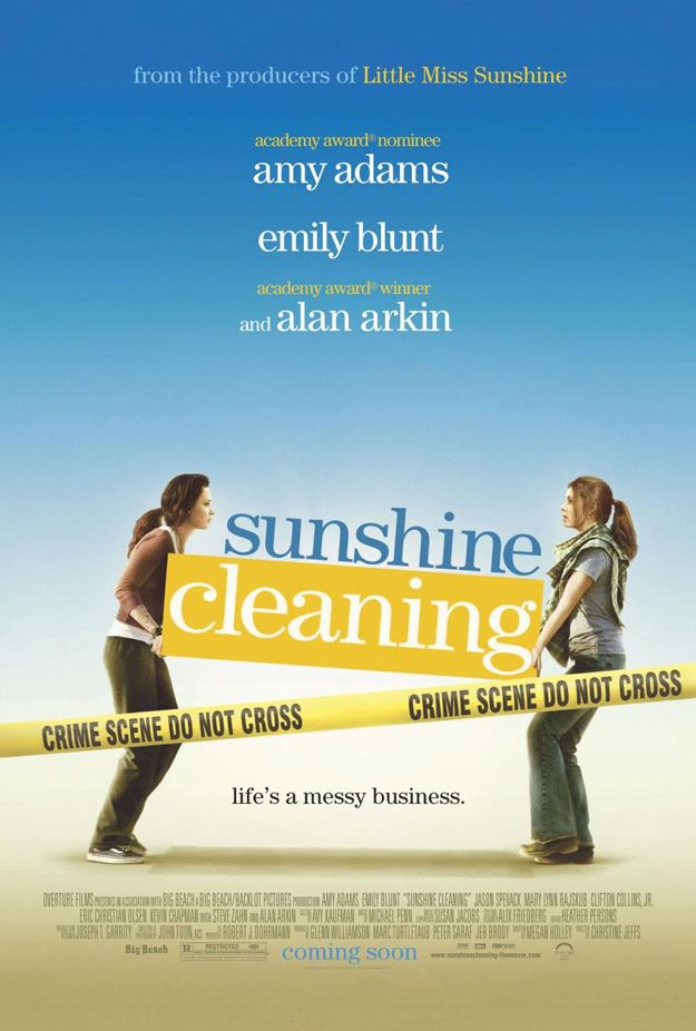 Sunshine Cleaning Movie Poster. Friday, 23 January 2009 02:09