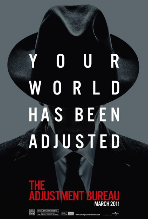 ADJUSTMENT BUREAU Movie Poster