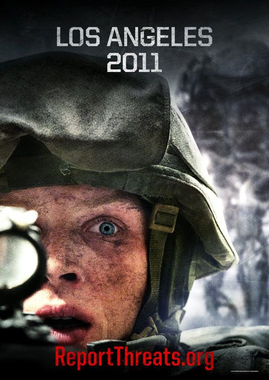 BATTLE LOS ANGELES Movie Posters