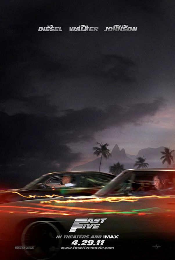 fast five photos. FAST FIVE Movie Poster : Vin