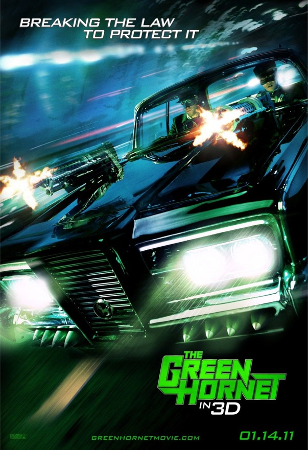 Latest THE GREEN HORNET Poster