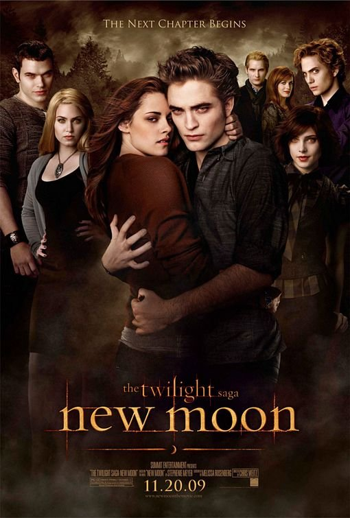 Twlight New Moon Poster