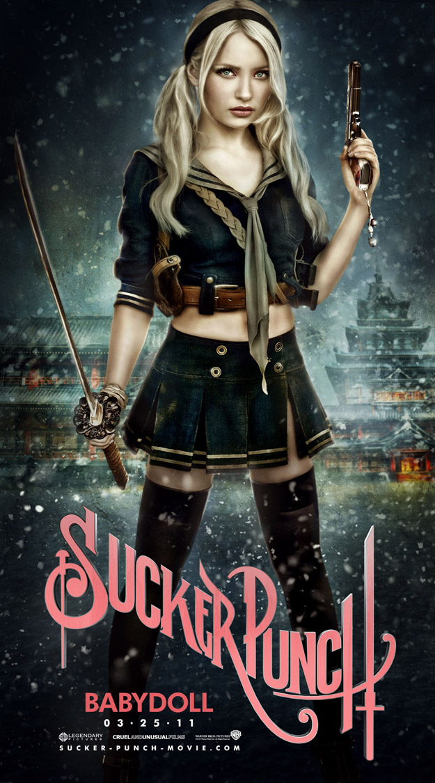 SUCKER PUNCH Movie Poster BabyDoll