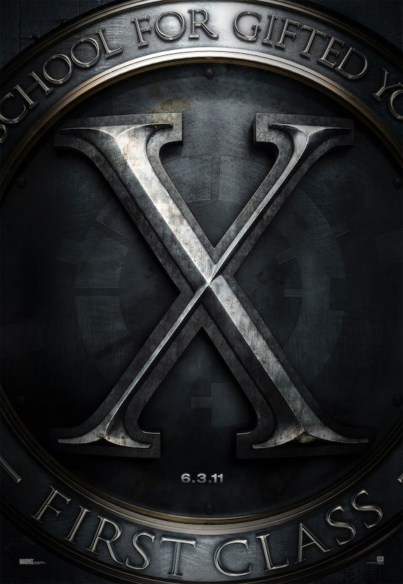 X-MEN FIRST CLASS Teaser Poster