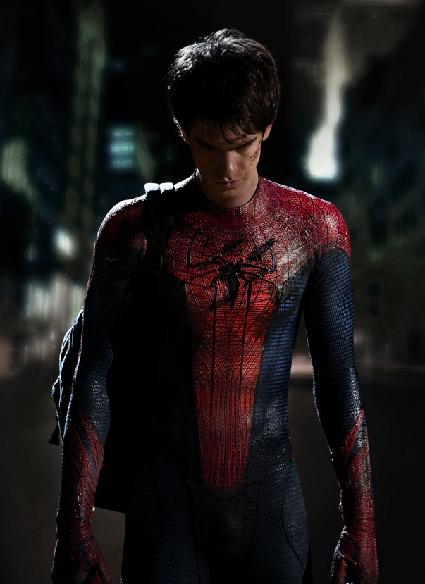 First Photo Of Andrew Garfield As SPIDER-MAN