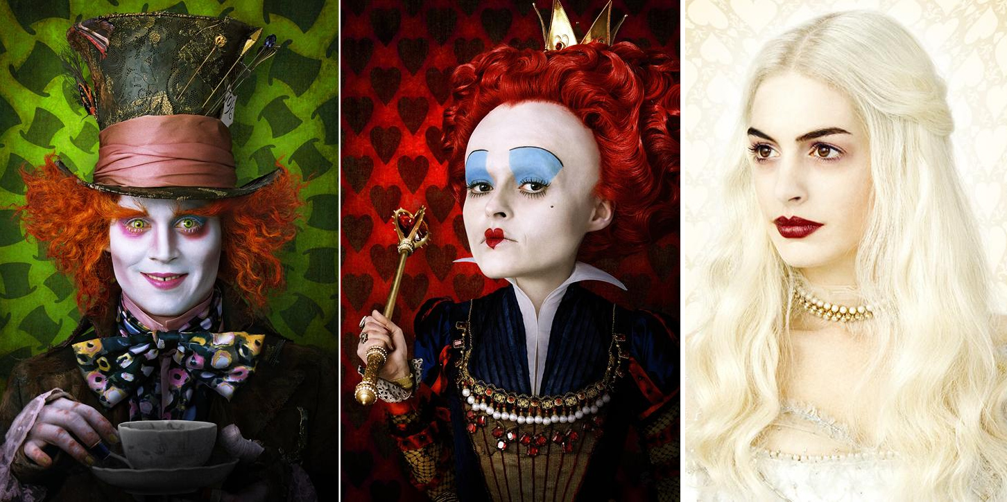 alice in wonderland movie characters pictures