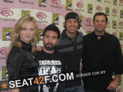 Chuck Cast At Wondercon