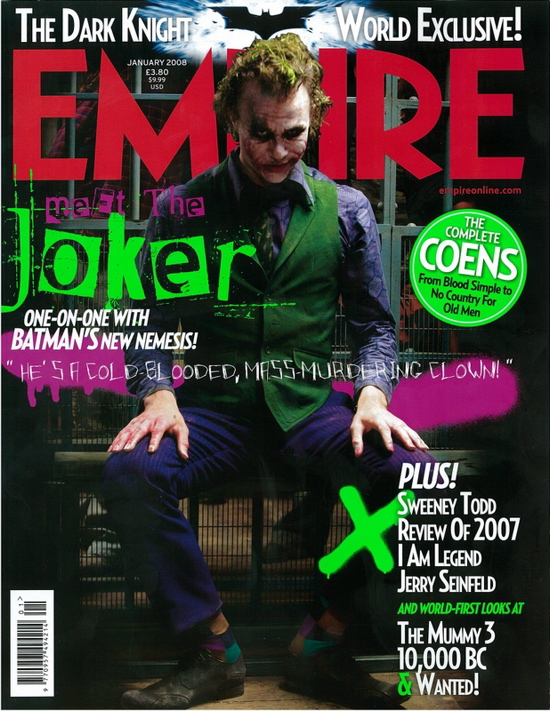 Heath Ledger Joker Photo