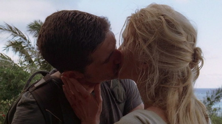 Jack And Juliet Kiss On Lost