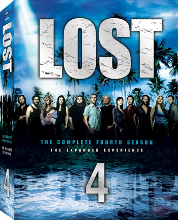Lost Season 4 DVD Cover Art