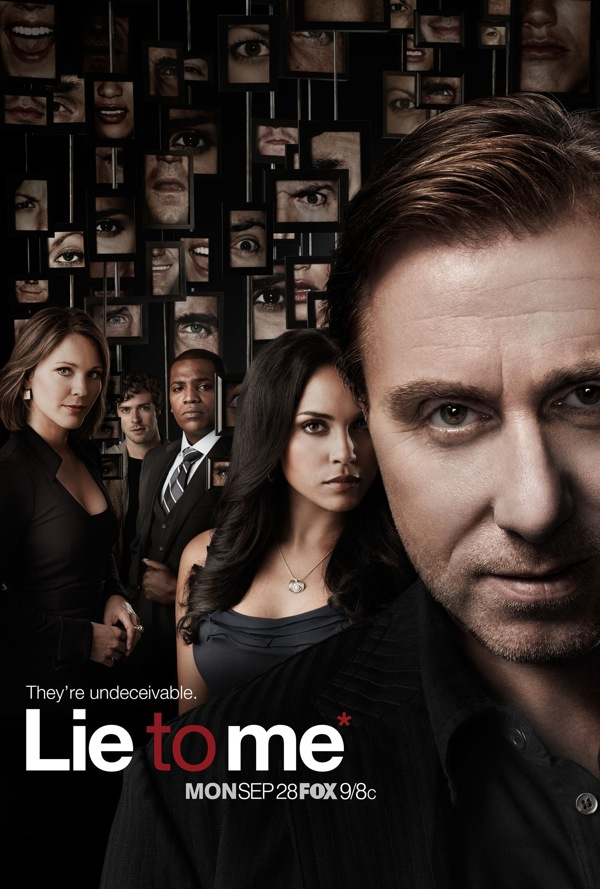 Lie To Me Season 2 Promo Poster