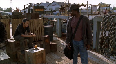 Miles and Michael Meet On Lost