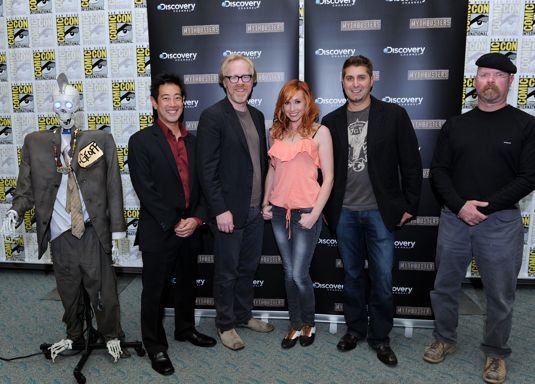 Mythbusters Comic Con