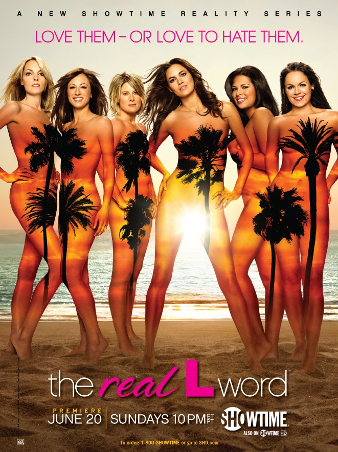 Real L Word Poster - Showtime
