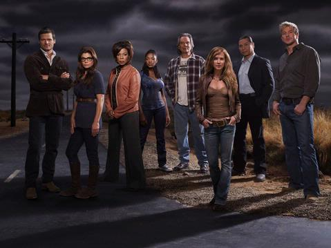 Saving Grace Cast Photo