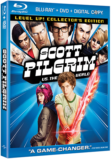 Scott Pilgrim Vs The World Bluray