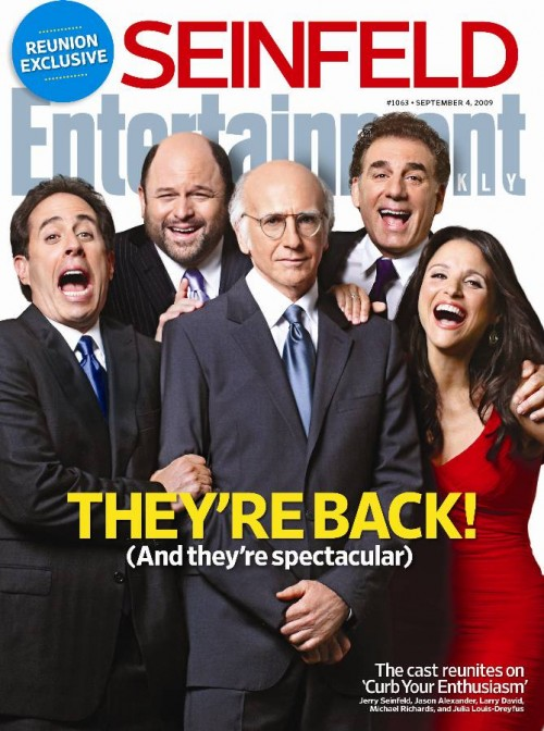 Seinfeld Reunion Entertainment Weekly Cover