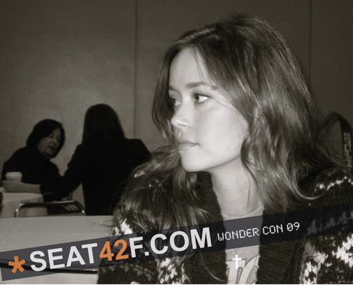 Summer Glau Wondercon