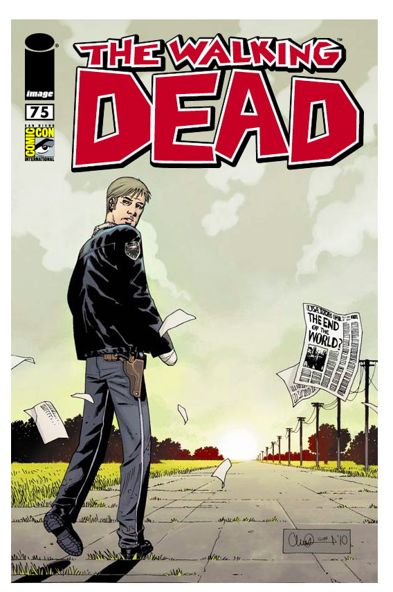 WALKING DEAD Comic Con Exclusive Comic Book