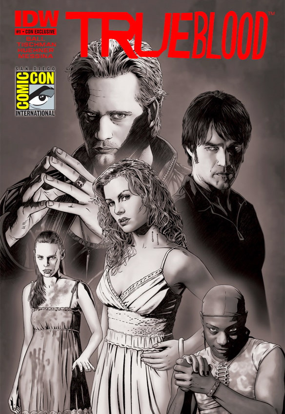 TRUE BLOOD Comic Con Exclusive Comic Book