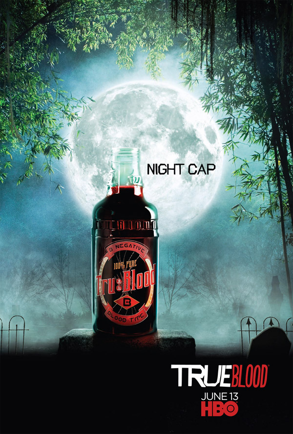 True Blood NIGHT CAP Poster