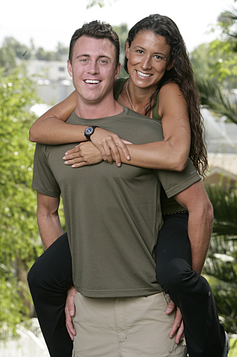 Amazing Race Garrett and Jessica