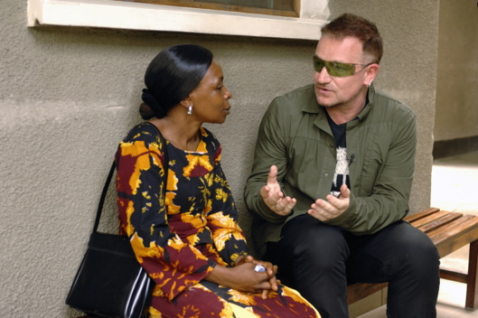 Photos From American Idol Gives Back - Bono Of U2