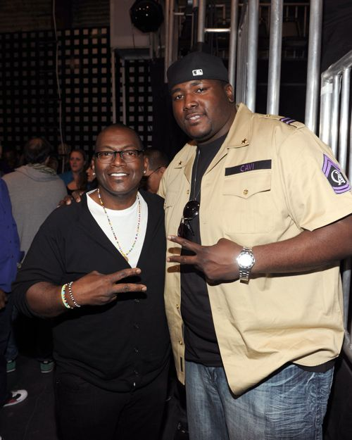 America's Best Dance Crew executive producer Randy Jackson and actor Quinton Aaron