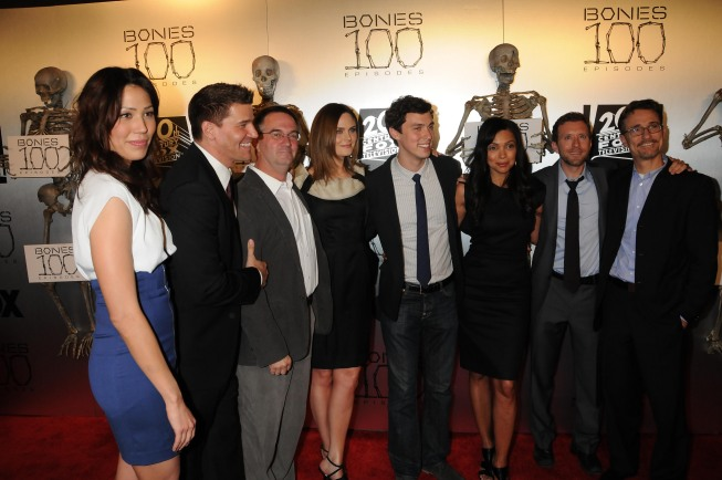 Bones 100th Episode Celebration Photo
