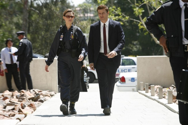 Booth And Brennan On Bones