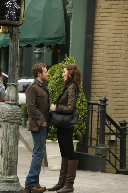 Hodgins And Angela On Bones
